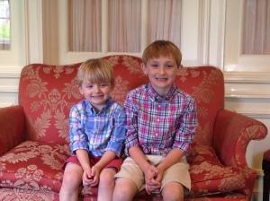 Charlie and David