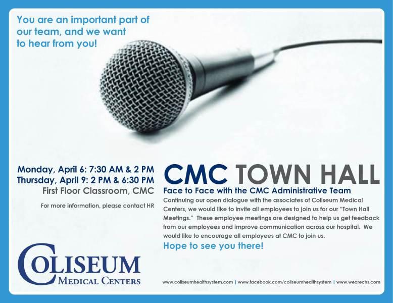 CMC Town Hall_April 6 2105