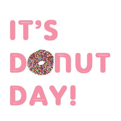 Happy National Doughnut Day