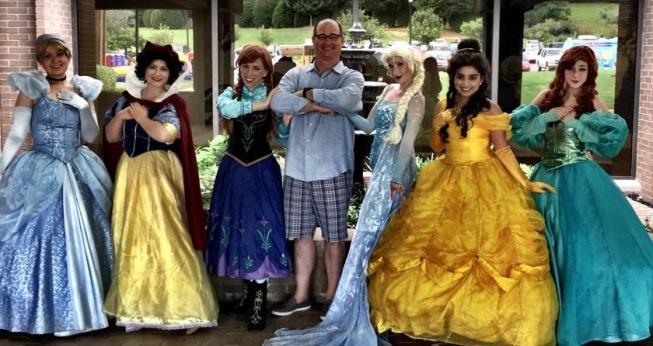 Steve and princesses