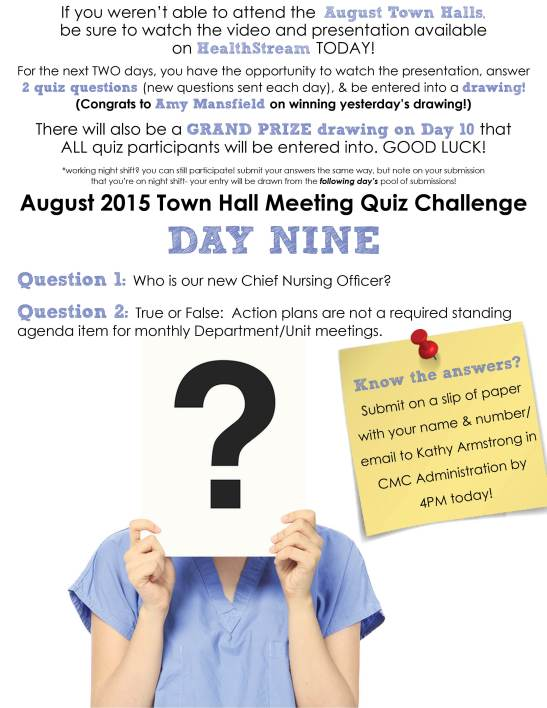 Town Hall Quiz_day 9