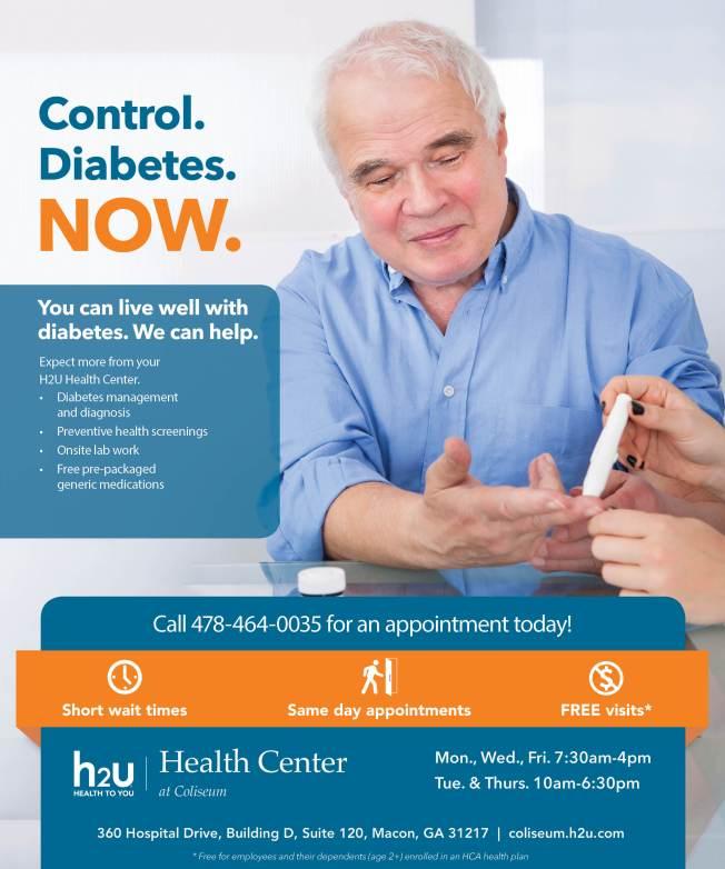 H2U Health Center_Nov poster