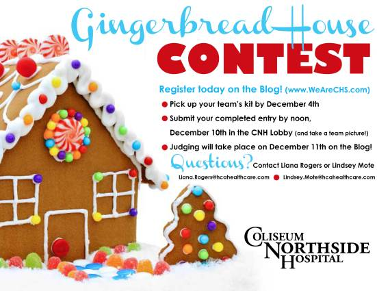 CNH Gingerbread House Contest
