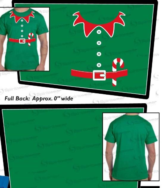 green Cmas shirts