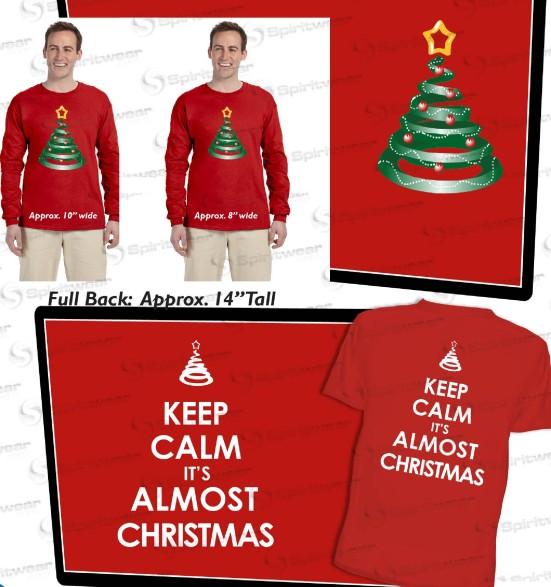 red Cmas shirts