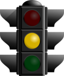 traffic light - yellow