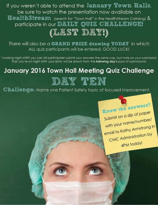 Town Hall Quiz_day 10