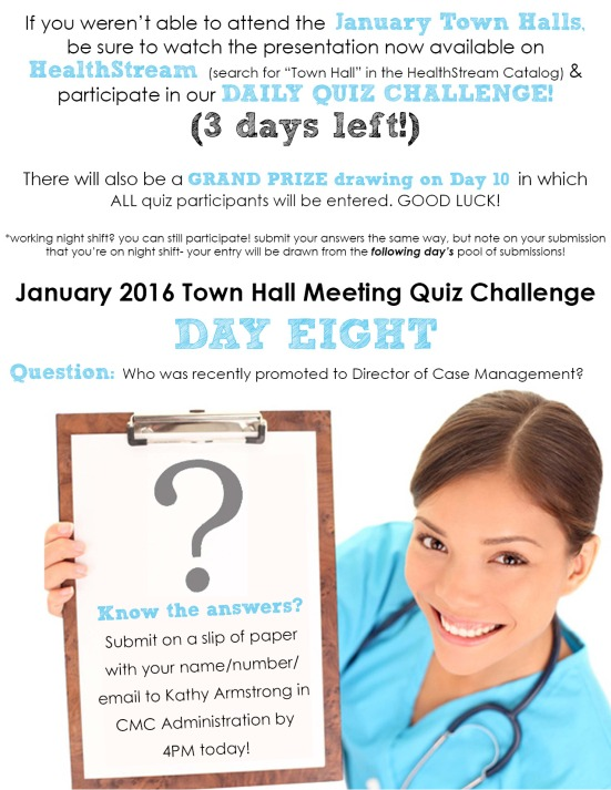 Town Hall Quiz_day 8