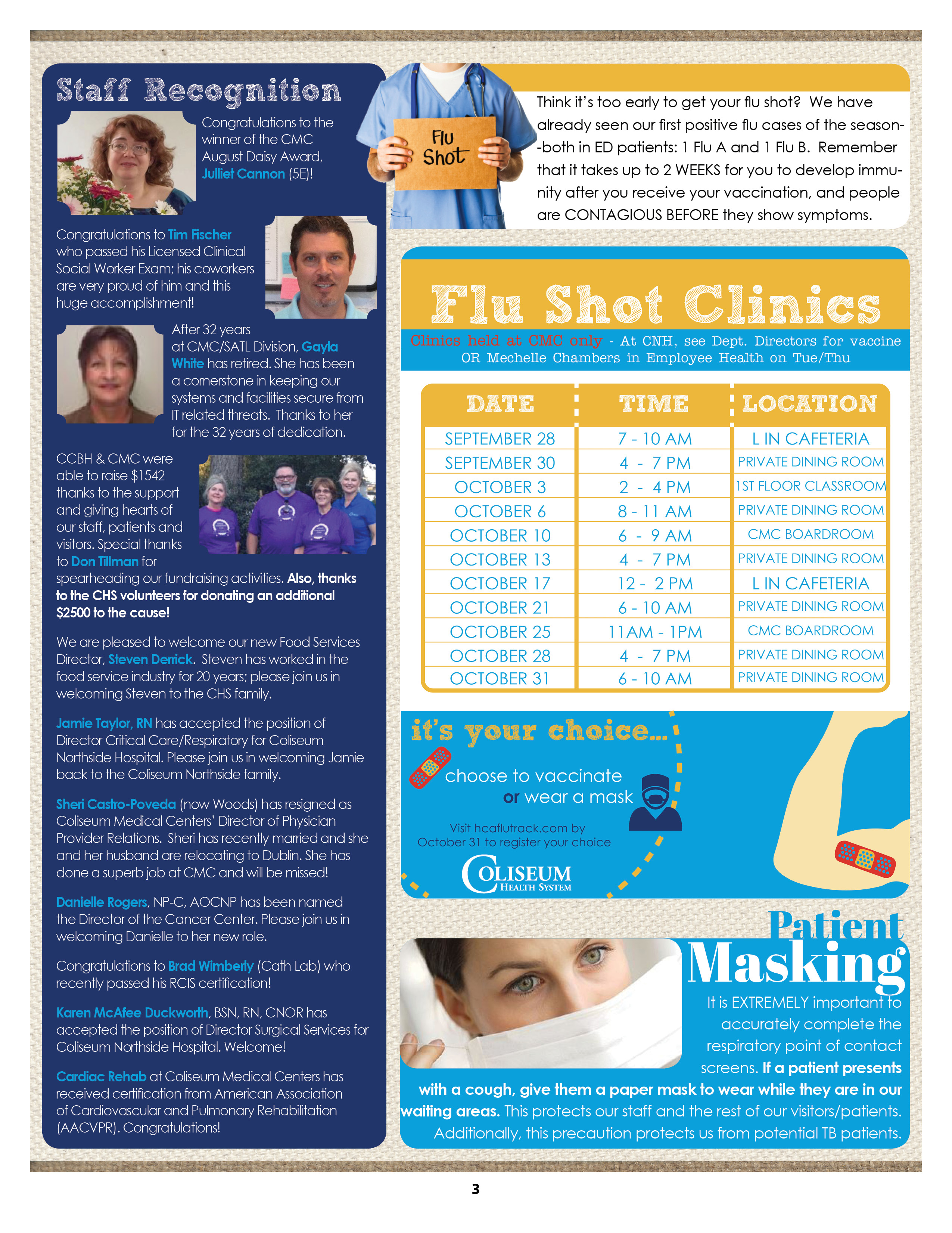 Septoct Main Artery 2016pg 3 Coliseum Health System