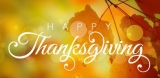 Steve's Weekly Wrap-Up: Happy Thanksgiving!
