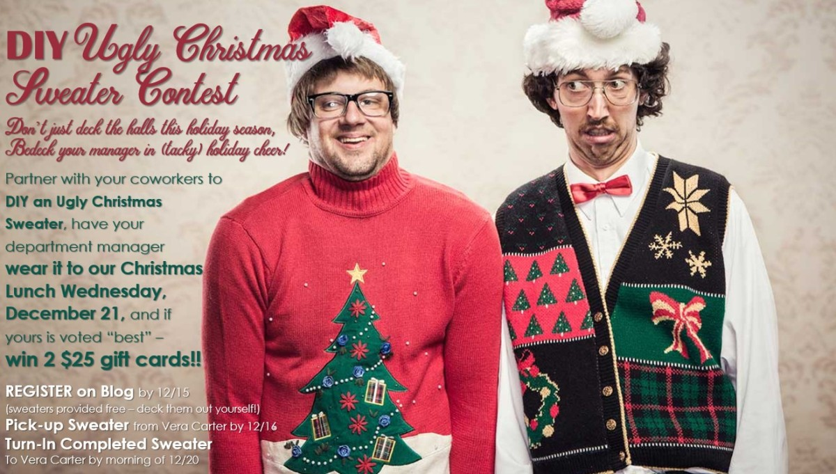 CMC DIY Ugly Christmas Sweater Contest! | Coliseum Health System