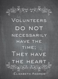 volunteers quote