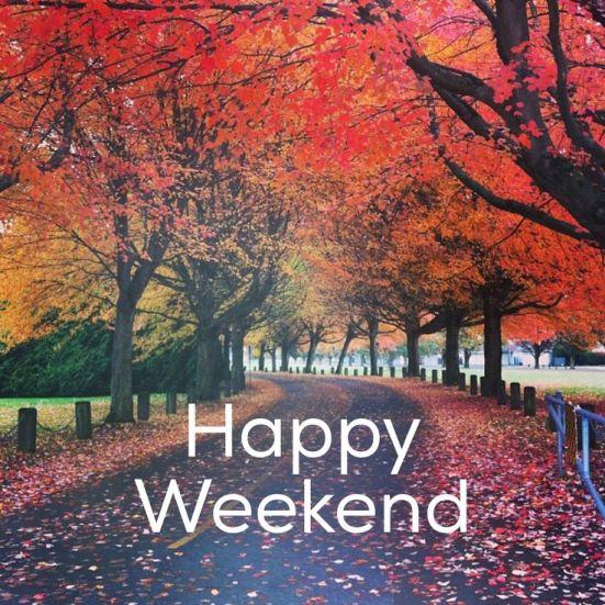 happy fall weekend