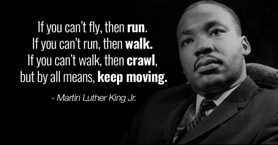 MLK Keep Moving