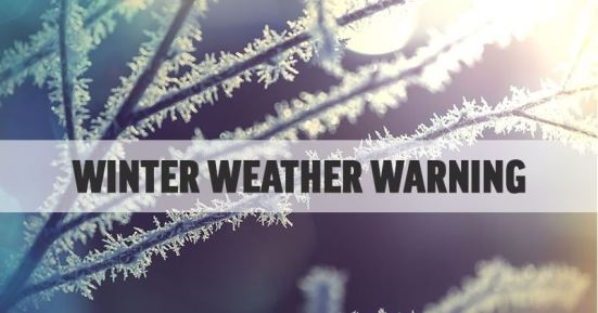 winter weather warning