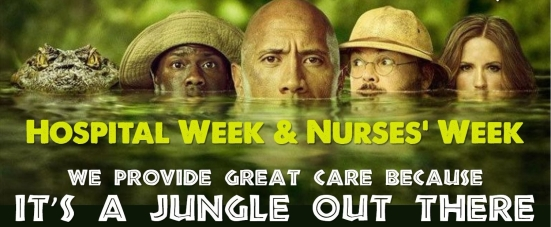 Hospital Week teaser_Jumanji
