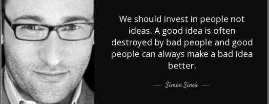simon sinek invest in people