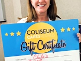 Coliseum Cares – Putting those POINTS to gooduse!