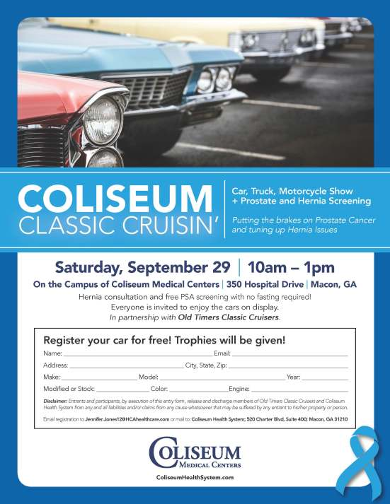 CMC_Oncology_Prostate Screening and Car Show 2018_Flyer_8.5x11