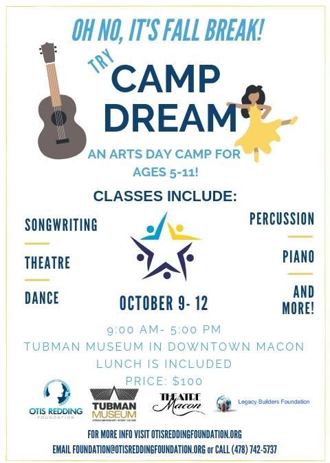Camp DREAM Flyer