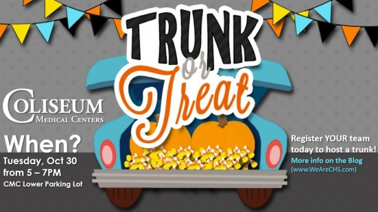 CMC Trunk or Treat 2018
