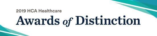2019 awards of distinction