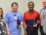 """Coliseum """"Nurse of the Year"""" and """"Tech of theYear""""!"""